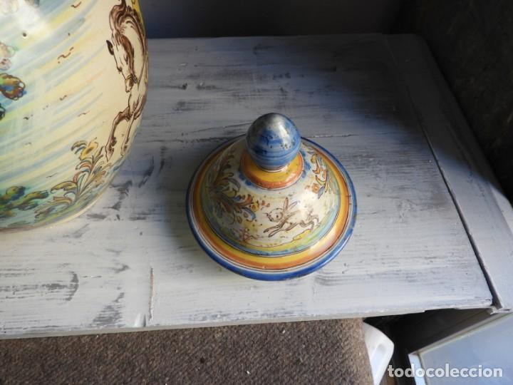 Antigüedades: TIBOR DE CERAMICA DE TALAVERA RUIZ DE LUNA - Foto 8 - 167954276