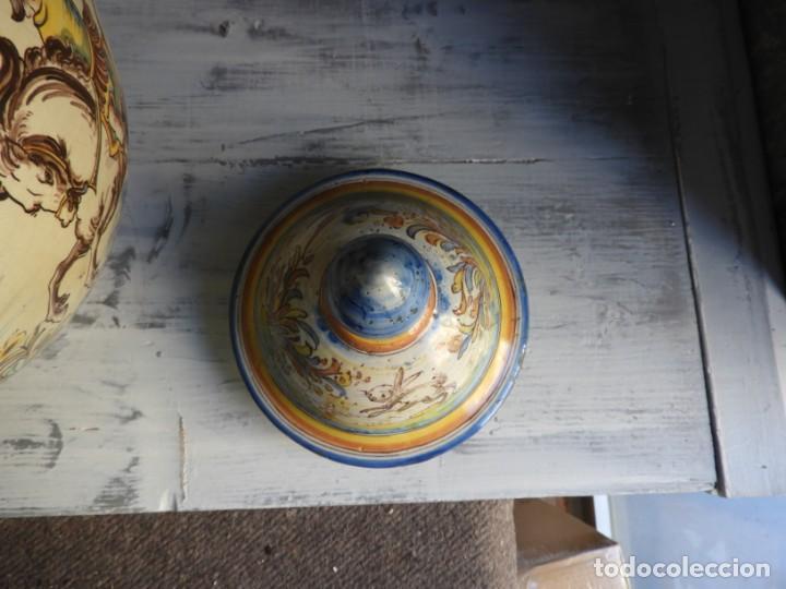 Antigüedades: TIBOR DE CERAMICA DE TALAVERA RUIZ DE LUNA - Foto 9 - 167954276