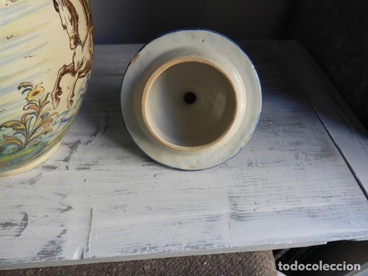 Antigüedades: TIBOR DE CERAMICA DE TALAVERA RUIZ DE LUNA - Foto 10 - 167954276