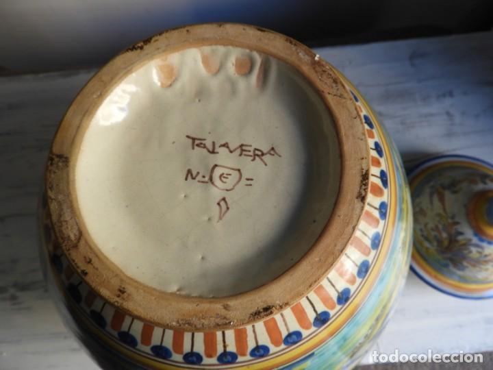 Antigüedades: TIBOR DE CERAMICA DE TALAVERA RUIZ DE LUNA - Foto 12 - 167954276