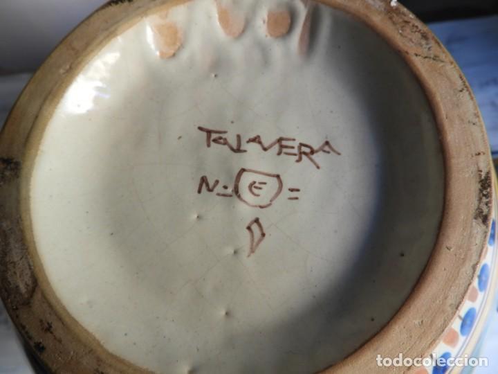 Antigüedades: TIBOR DE CERAMICA DE TALAVERA RUIZ DE LUNA - Foto 13 - 167954276