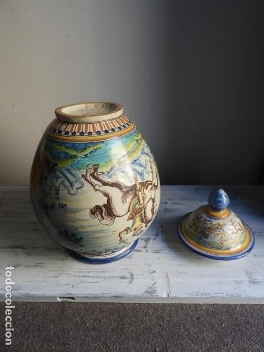 Antigüedades: TIBOR DE CERAMICA DE TALAVERA RUIZ DE LUNA - Foto 14 - 167954276