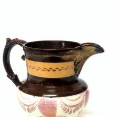 Antigüedades: JARRA DE REFLEJOS DE BRISTOL S. XIX. Lote 167955688