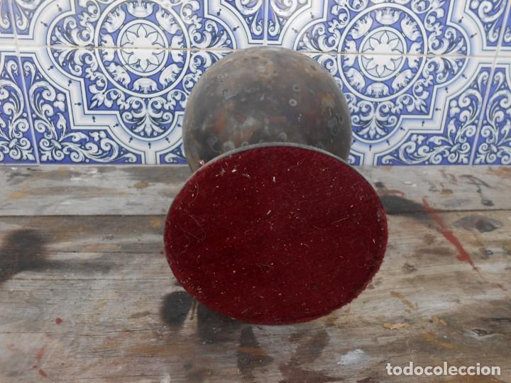 Antigüedades: CALIZ PLATEADO ANTIGUO - Foto 2 - 167966688