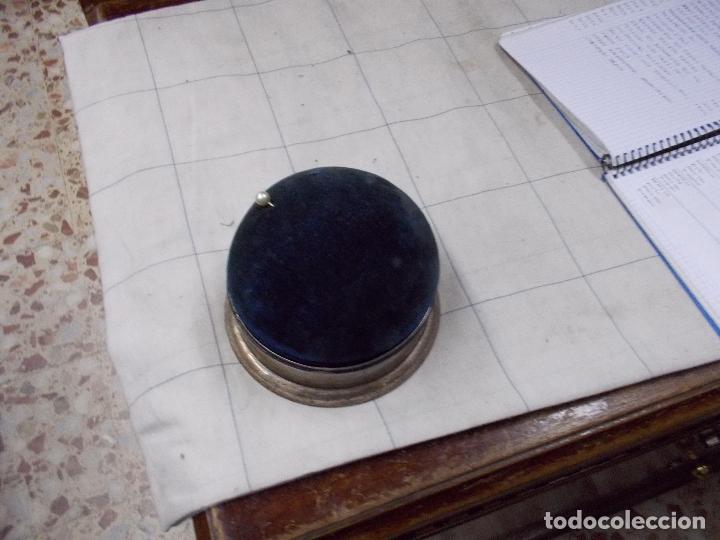 Antigüedades: costurero o alfiletero en plata creo - Foto 9 - 167968232
