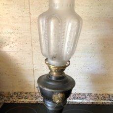 Antigüedades: ANTIGUO QUINQUÉ DE METAL. Lote 167970672