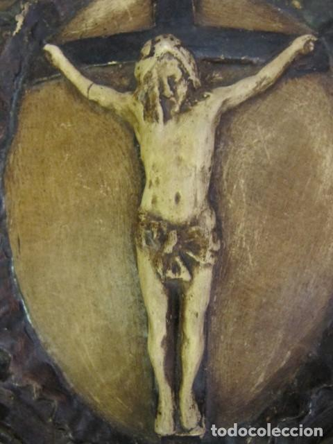 Antigüedades: GRAN BENDITERA FIRMADA A. PEYRO - Foto 4 - 167972076