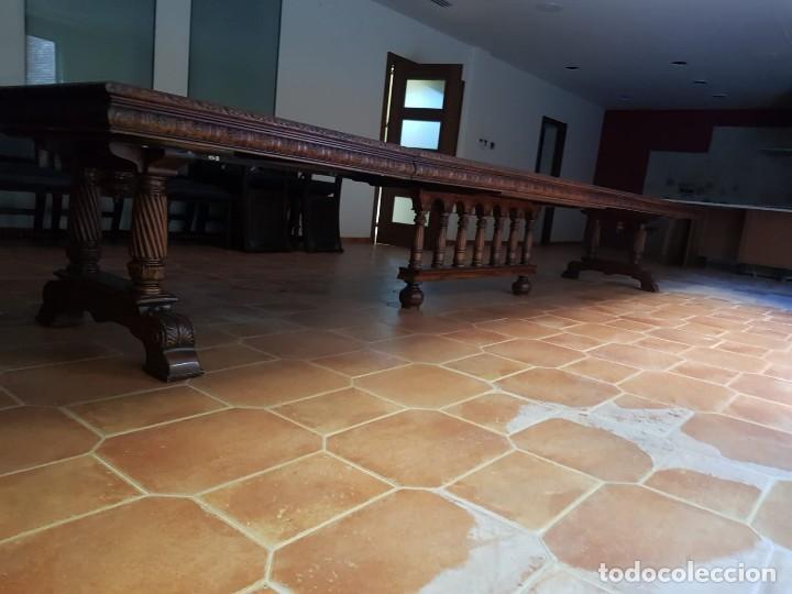 MESA Y SILLAS (Antigüedades - Muebles Antiguos - Mesas Antiguas)