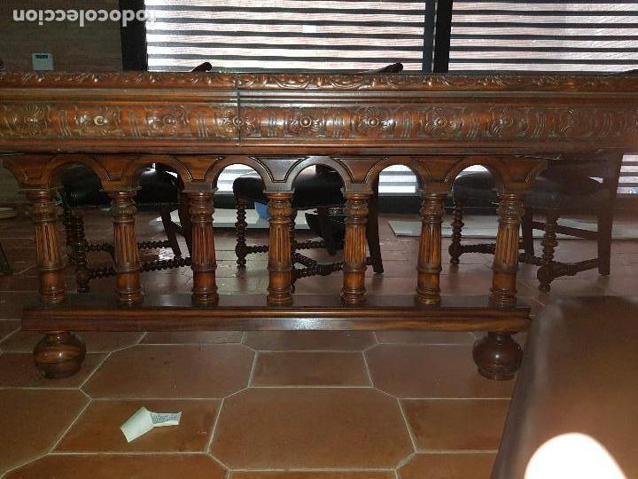Antigüedades: Mesa y sillas - Foto 2 - 167978776