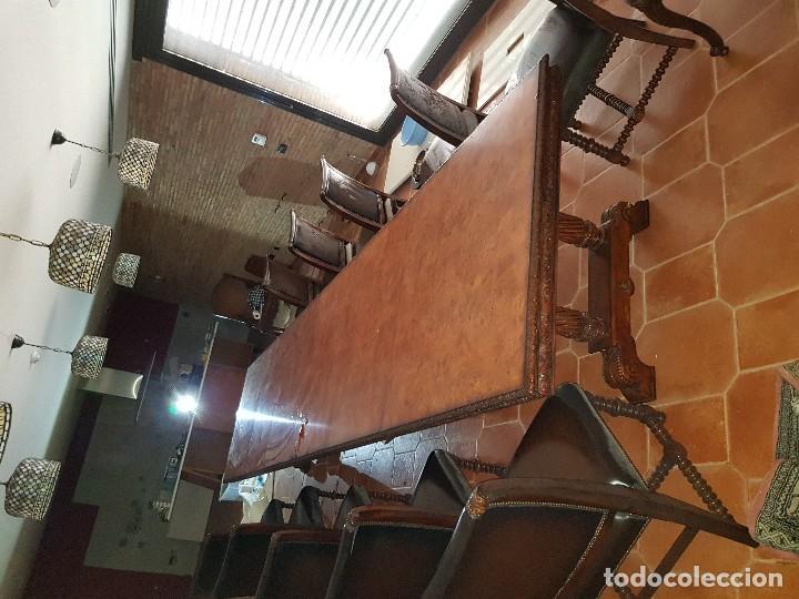 Antigüedades: Mesa y sillas - Foto 6 - 167978776