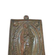 Antigüedades: MADONA RELICARIO SIGLO XVIII. Lote 167983328