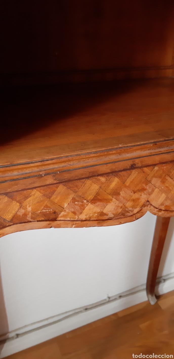 Antigüedades: Mueble Antiguo Estilo Luis XV / Mueble Madera - Foto 5 - 167997048