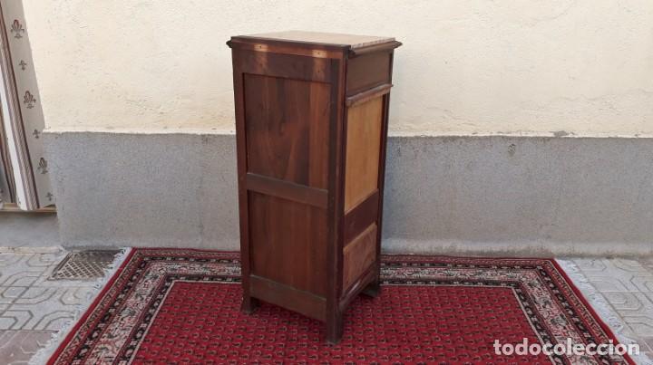 Antigüedades: Mueble sinfonier antiguo estilo modernista. Cómoda alta cajonera antigua vintage. - Foto 16 - 167999348