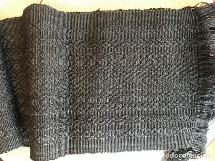Antigüedades: faja de algodon labrado ancha para hombre, con relieve, gran tamaño - Foto 3 - 168002280