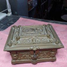 Antigüedades: CAJA DE BRONCE. Lote 168025336