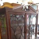 Antigüedades: VITRINA DE CAOBA. Lote 168032541