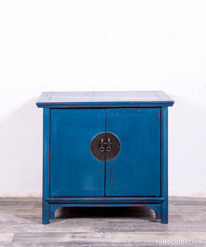 Antigüedades: Aparador Chino Antiguo Restaurado Harbin - Foto 5 - 168083148