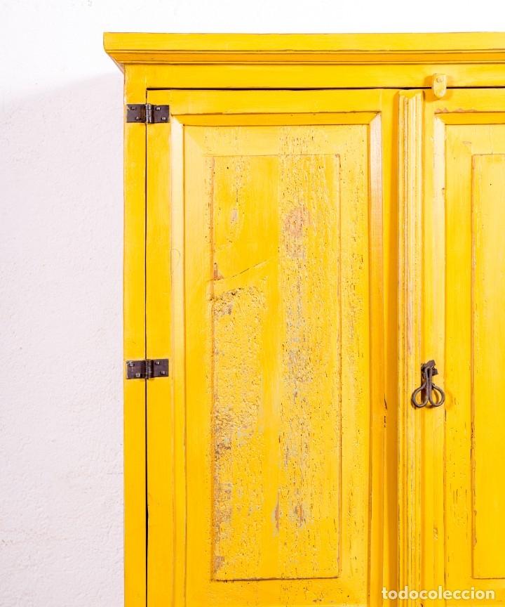 Antigüedades: Armario Antiguo Restaurado Didier - Foto 7 - 168092844