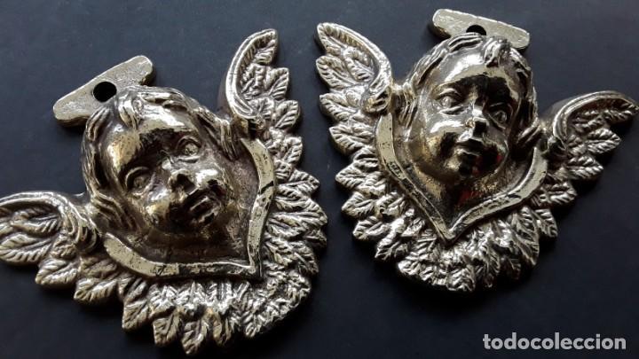 Antigüedades: Angelitos de bronce - Foto 2 - 168098368