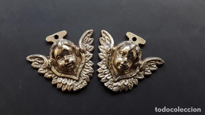 Antigüedades: Angelitos de bronce - Foto 4 - 168098368