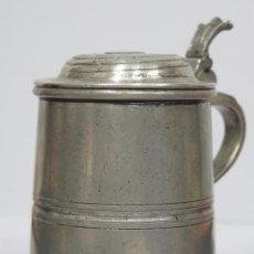 Antigüedades: ANTIGUA JARRA ESTAÑO. EPU. Lote 168102244