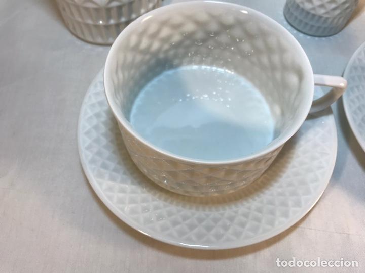 Antigüedades: Juego de Desayuno Tú y Yo de Porcelana- España- Castro Sargadelos. - Foto 4 - 168117140