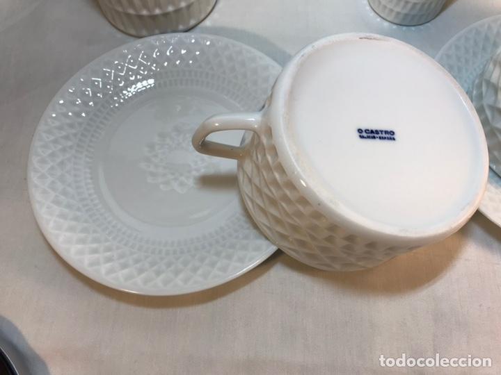 Antigüedades: Juego de Desayuno Tú y Yo de Porcelana- España- Castro Sargadelos. - Foto 6 - 168117140