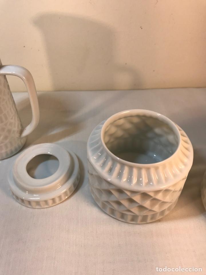Antigüedades: Juego de Desayuno Tú y Yo de Porcelana- España- Castro Sargadelos. - Foto 10 - 168117140