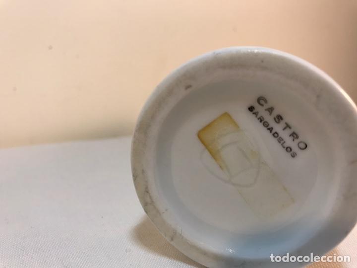 Antigüedades: Mechero de Porcelana- España- Castro Sargadelos. - Foto 5 - 168118138
