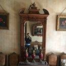 Antigüedades: GRAN CONSOLA ISABELINA CON ESPEJO S.XIX OJO SOLO RECOGIDA. Lote 168123748