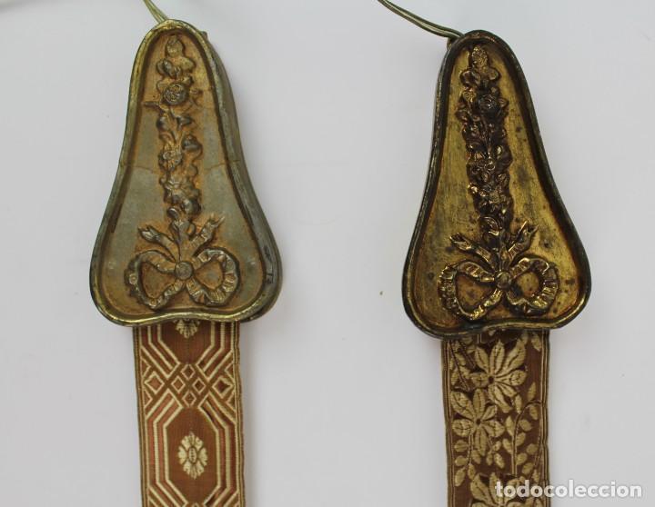 Antigüedades: PAREJA DE APLIQUES DE PARED.PRINCIPIOS DE SIGLO XX - Foto 2 - 168127784