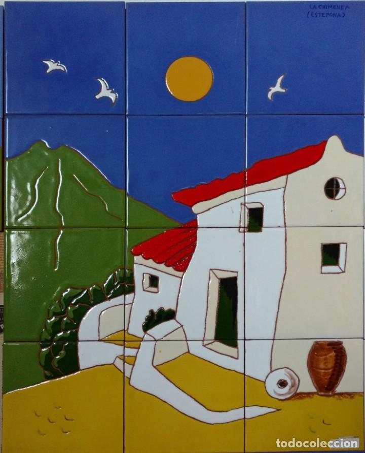 PUEBLO 2-A (Antigüedades - Porcelanas y Cerámicas - Azulejos)