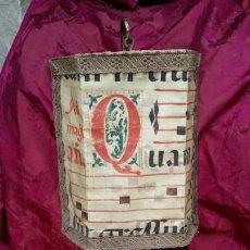 Antigüedades: LÁMPARA FORJA.. Lote 168178880