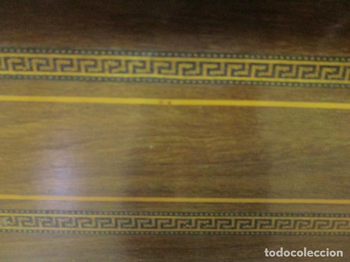 Antigüedades: Curiosa Mesa de Despacho - Art Deco - Escribanía Camuflada - Madera de Caoba - Años 20-30 - Foto 34 - 168188884