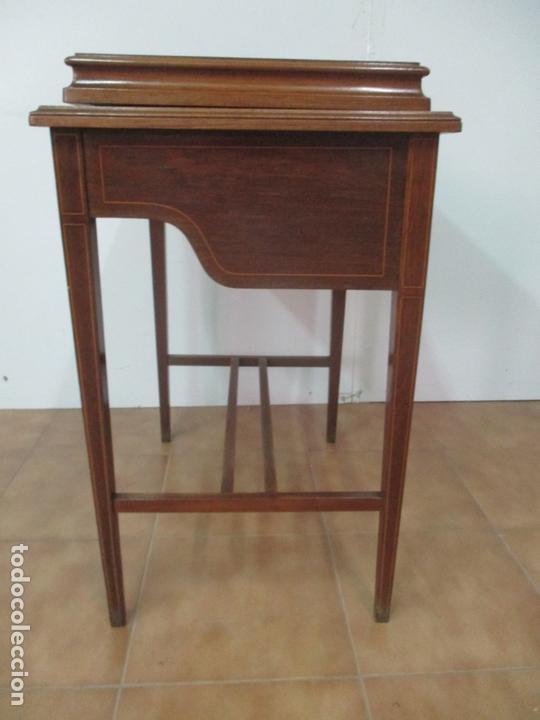 Antigüedades: Curiosa Mesa de Despacho - Art Deco - Escribanía Camuflada - Madera de Caoba - Años 20-30 - Foto 37 - 168188884