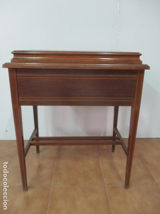 Antigüedades: Curiosa Mesa de Despacho - Art Deco - Escribanía Camuflada - Madera de Caoba - Años 20-30 - Foto 41 - 168188884