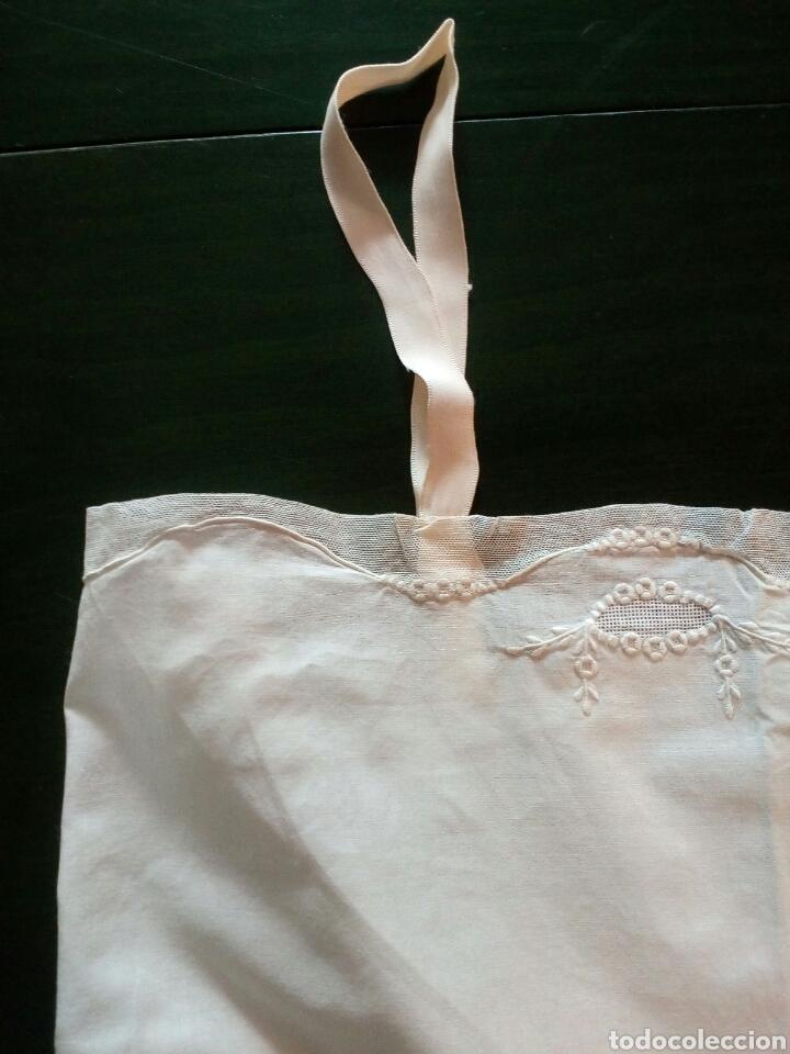 Antigüedades: Combinación antigua de señora , algodón y adornos de tul , principios de 1900 - Foto 2 - 168213186