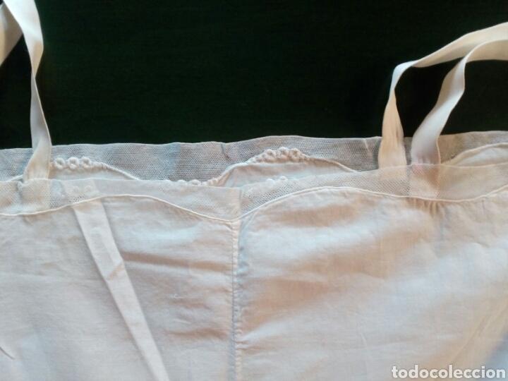 Antigüedades: Combinación antigua de señora , algodón y adornos de tul , principios de 1900 - Foto 3 - 168213186