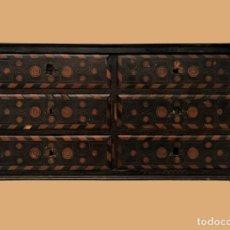 Antigüedades: MAGNIFICO BARGUEÑO ESPAÑOL ORIGINAL S. XVII. Lote 168226992