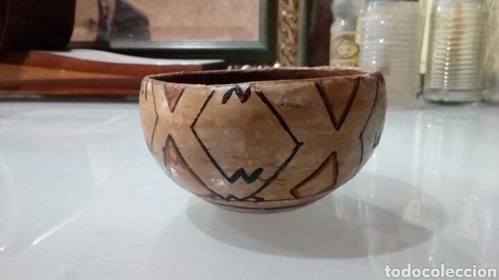 Antigüedades: Cuenco de barro decorado - Foto 2 - 168231273