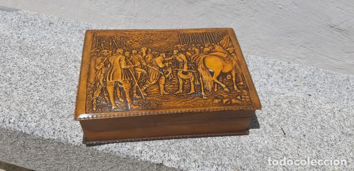 ANTIGÜA CAJA DE FUMADOR (Antigüedades - Varios)