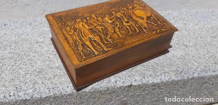 Antigüedades: Antigüa caja de fumador - Foto 3 - 168272444