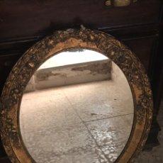 Antiquités: ANTIGUO ESPEJO DE PARED. Lote 168283096