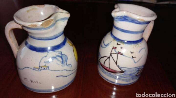 JARRAS DE TALAVERA DE LA REINA. RUIZ DE LUNA. TB X SEPARADO (Antigüedades - Porcelanas y Cerámicas - Talavera)