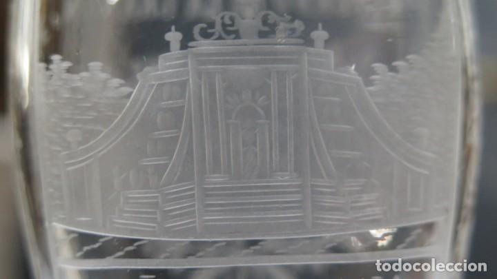 Antigüedades: VASO RECUERDO. BAÑOS DE DIANA. LA GRANJA. SEGOVIA. FINALES SIGLO XIX - Foto 2 - 168306828