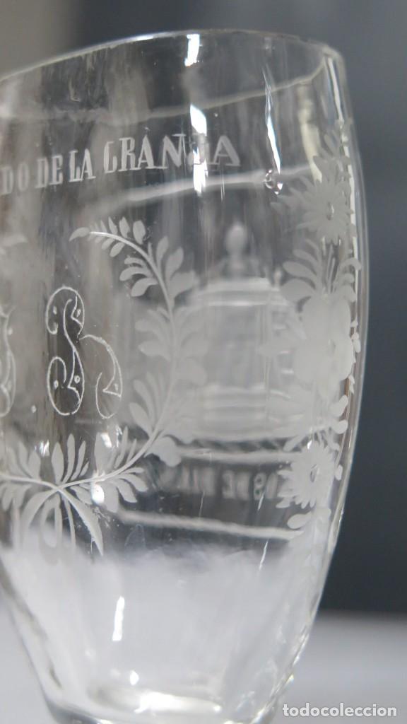 Antigüedades: VASO RECUERDO. BAÑOS DE DIANA. LA GRANJA. SEGOVIA. FINALES SIGLO XIX - Foto 9 - 168306828