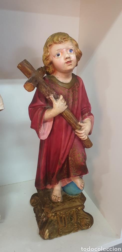 NIÑO JESUS PARA RESTAURAR (Antigüedades - Religiosas - Varios)
