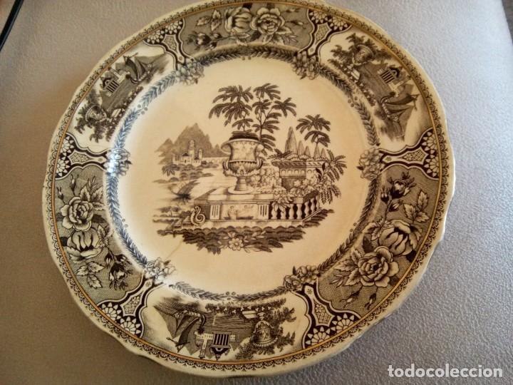 *PLATO SAN CLAUDIO. GRIFE Y ESCODA. (RF( GG1/A) (Antigüedades - Porcelanas y Cerámicas - San Claudio)