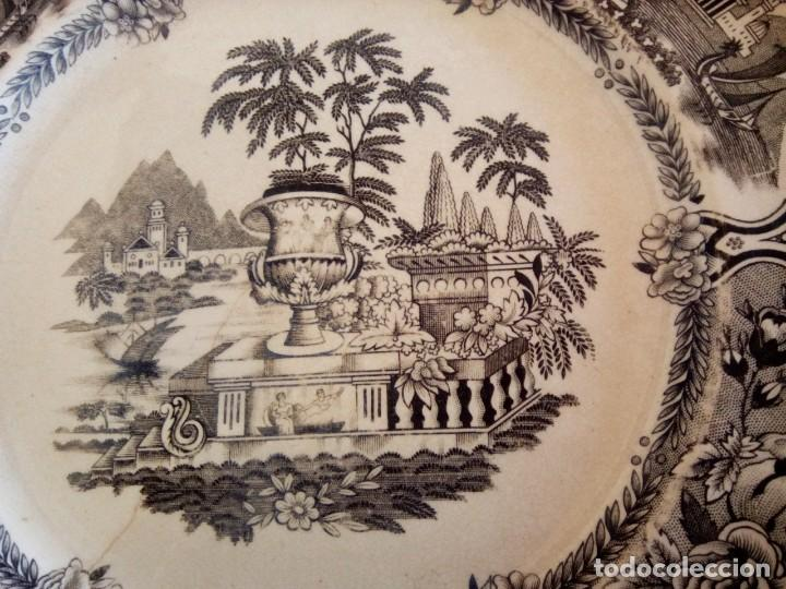 Antigüedades: *PLATO SAN CLAUDIO. GRIFE Y ESCODA. (Rf( Gg1/a) - Foto 3 - 168343592