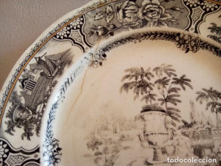 Antigüedades: *PLATO SAN CLAUDIO. GRIFE Y ESCODA. (Rf( Gyg3/a) - Foto 2 - 168344040